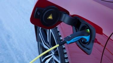 Volvo V60 T8 Twin Engine hybrid charging port