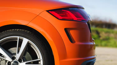 Audi TT Coupe tail
