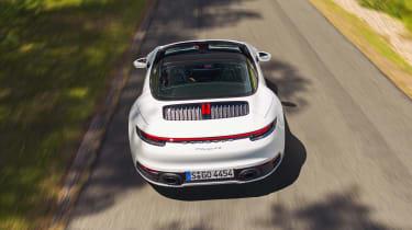 Porsche 911 Targa rear overhead