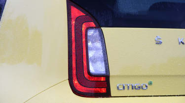 Skoda Citigo e iV hatchback rear lights