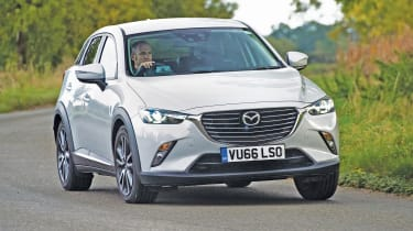 The Mazda CX-3 is one of the most enjoyable small SUVs to drive