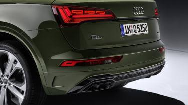 Audi Q5 facelift rear end