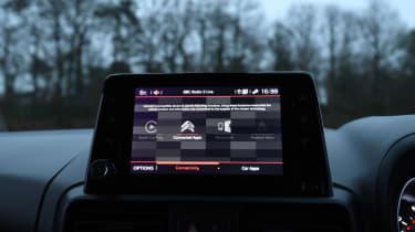Citroen Berlingo MPV infotainment display