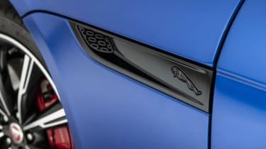 2020 Jaguar F-Type side vent detail