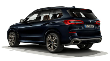 BMW X5 M50i rear view static