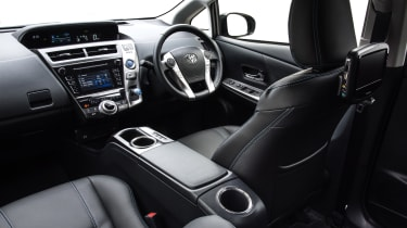Toyota Prius+ MPV driver's seat