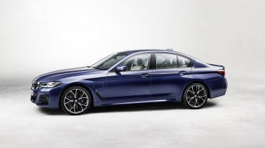 New 2020 BMW 5 Series saloon - side view
