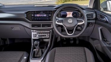 VW T-Cross interior (SEL)