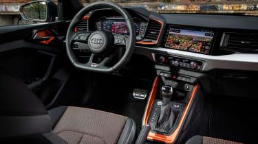 Audi A1 Citycarver hatchback dashboard