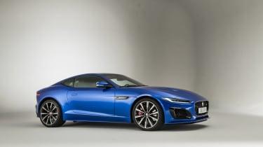 2020 Jaguar F-Type in studio
