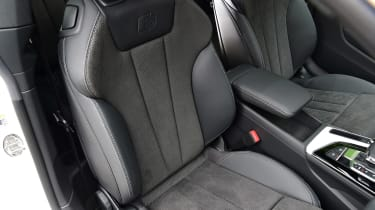 Audi A5 Coupe front seats