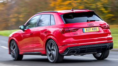 Audi RS Q3 cornering - rear