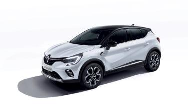 2020 Renault Captur E-Tech - Front 3/4 view