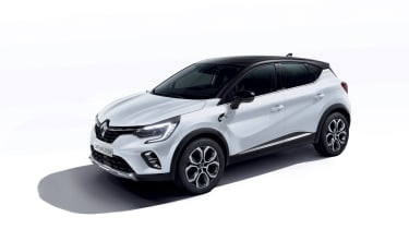 2020 Renault Captur E-Tech - Front 3/4 view