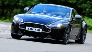 Aston Martin Vantage - front 3/4 view