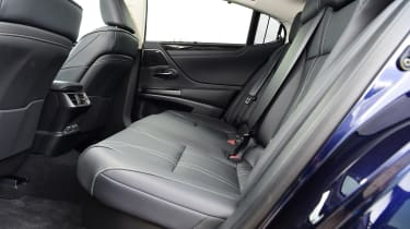 Lexus ES saloon rear seats