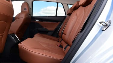 Skoda Enyaq iV SUV rear seats