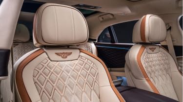 Bentley Flying Spur Odyssean Edition - front seat detailing