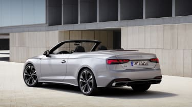 Audi A5 Cabriolet rear static