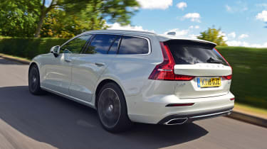 Volvo V60 estate rear 3/4 tracking