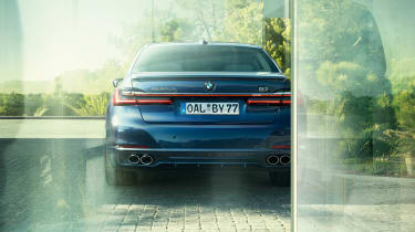 Alpina B7 rear end