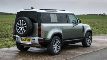 Land Rover Defender 110 - rear 3/4 static