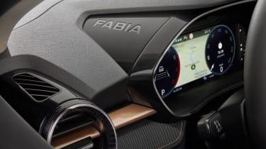 2021 Skoda Fabia - interior dashboard detail