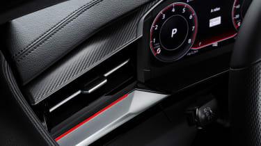 2020 Volkswagen Arteon hatchback - digital dial cluster