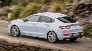 The cheapest i30 Fastback is priced almost exactly in line with its nearest rival, the Mazda3 Fastback