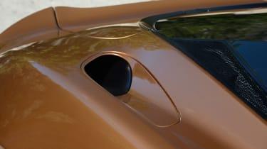 McLaren GT top air vent