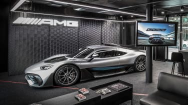 Mercedes-AMG ONE as it could look in your garage