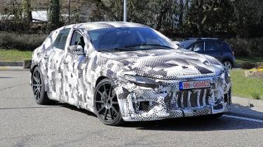 2022 Ferrari Purosangue SUV prototype - front 3/4 view