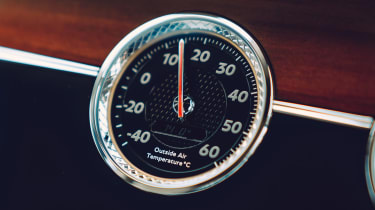 Bentley Continental Flying Spur saloon analogue gauges