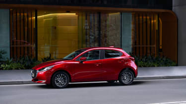 2020 Mazda 2 - static side profile