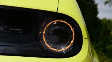 Honda e hatchback rear lights