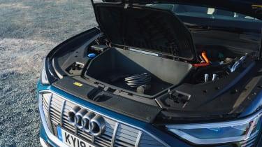 Audi e-tron SUV front boot