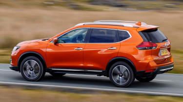 2017 Nissan X-Trail - dynamic 3/4 rear