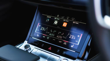 Audi e-tron SUV climate control