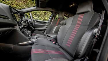 Renault Megane E-Tech hatchback front seats