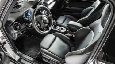 MINI Electric - interior quarter angle view