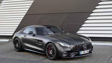 Inside, Edition 50 AMG GT Cs come with soft Napa leather seats and stitched 'Edition' logos