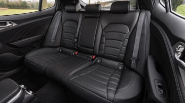 2021 Kia Stinger rear seats