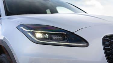 Jaguar E-Pace SUV review headlights