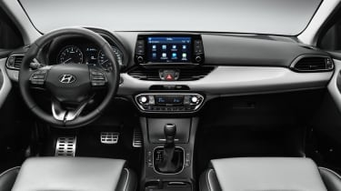 Even the entry-level i30 comes with Bluetooth connectivity and air-conditioning.