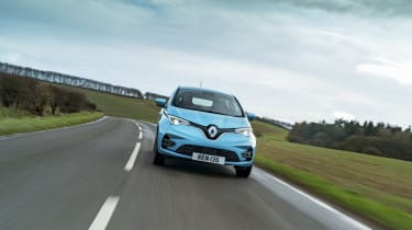 Renault ZOE - front dynamic