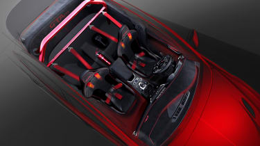 Alfa Romeo Giulia GTAm two-seat interior