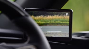 Lexus ES saloon side monitor