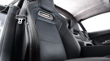 Jaguar F-Type coupe front seats