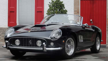 The 1957 Ferrari California GT Spider is one of the company's most famous – and valuable – cars