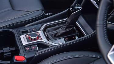 Subaru Forester lower centre console